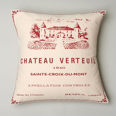 Chateau Vertuil Pillow