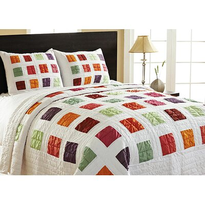 Arabesque Quilt Set Size: Twin