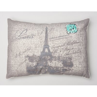 Paris Linen Lumbar  Pillow