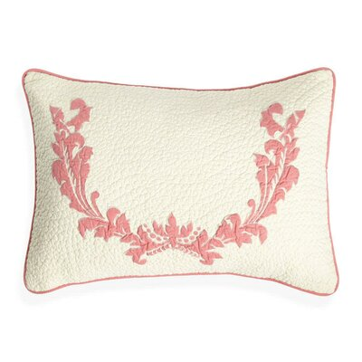 Damask Cotton Lumbar Pillow