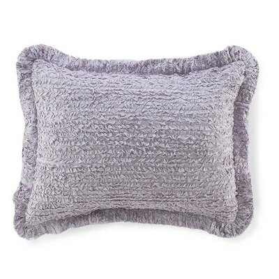 Lauren Ruffled Cotton Bolster Pillow