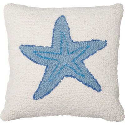 Starfish Wool Throw Pillow