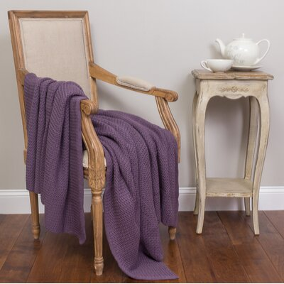 Devin Cotton Throw Color: Lilac