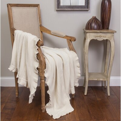Quarrie Cotton Throw Color: Oyster
