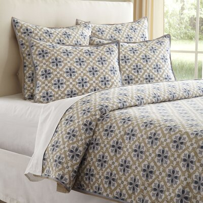 Alyce Duvet Cover Size: King