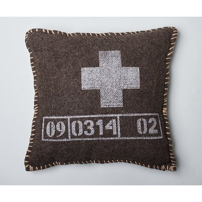 Hunter Cotton Throw Pillow