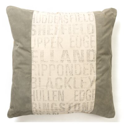 Helimax Recycled Canvas Throw Pillow