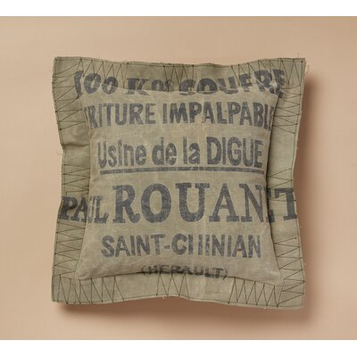 St. Chinan Cotton Throw Pillow