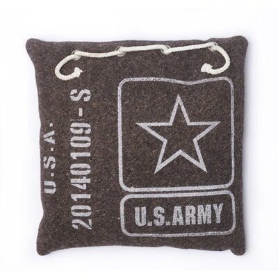 Army Cotton Throw Pillow