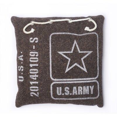 Army Cotton Throw Pillow