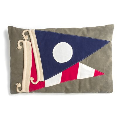 Signal Flag Throw Pillow