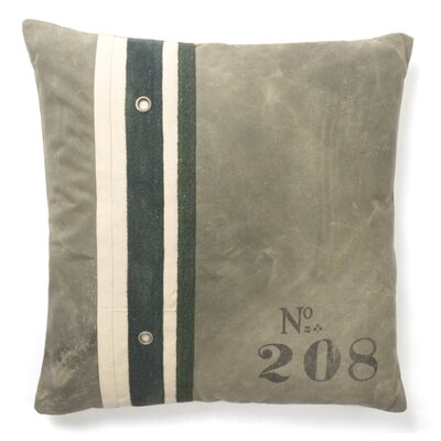 Blake Recycled Canvas Throw Pillow