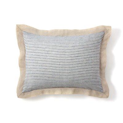 Belle Linen Stripe Sham Size: Standard