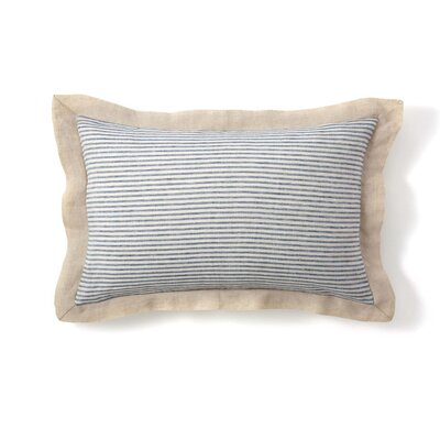 Belle Linen Stripe Sham Size: King