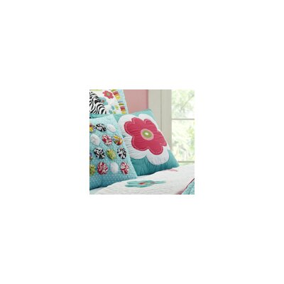 Abby/Jane Flower Decorative Cotton Throw Pillow