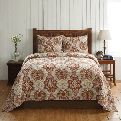 Cottage Home Giselle 3 Piece Quilt Set Size: Twin