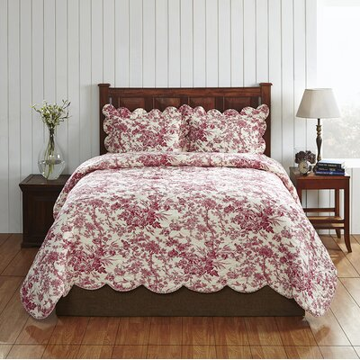 Diane Quilt Set Size: Queen