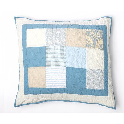 Oceanside Quilted Sham Size: Euro