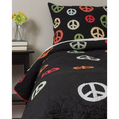 Peace Quilt Size: King