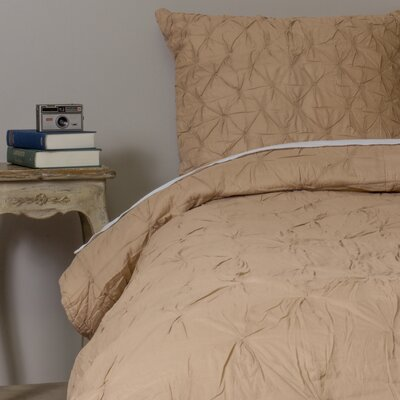 Aiden Quilt Color: Taupe, Size: King