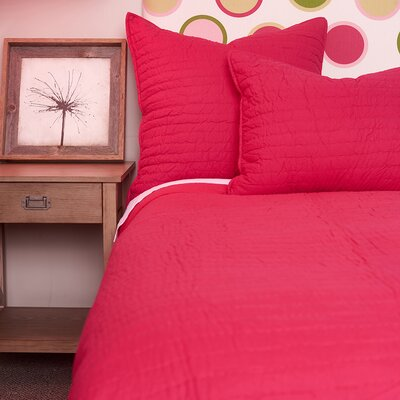 Brighton Quilt Color: Hot Pink, Size: King