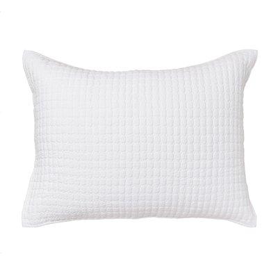 Karina Sham Size: Standard, Color: White
