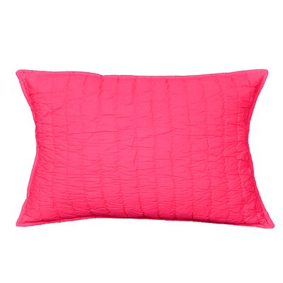 Brighton Sham Color: Pink, Size: King