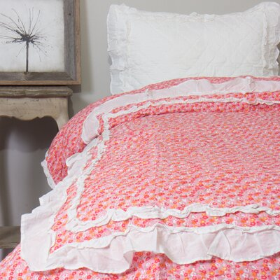 Addie Floral 2 Piece Quilt Set