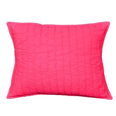 Brighton Sham Size: Standard, Color: Pink