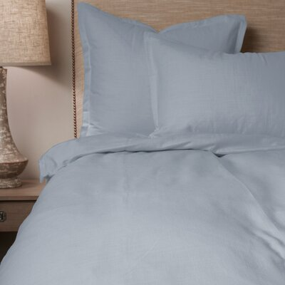 Paige Duvet Cover Size: King, Color: Blue