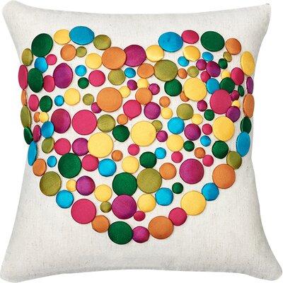 Sweet Love Wool Throw Pillow