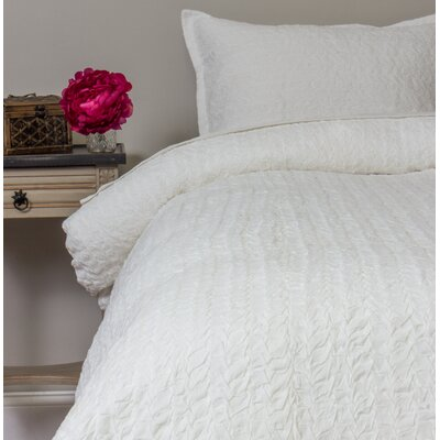 Giselle Duvet Cover Size: Queen