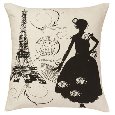Toulouse Linen Decorative Cotton Throw Pillow