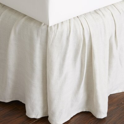 Savannah 280 Thread Count Bed Skirt Size: Queen