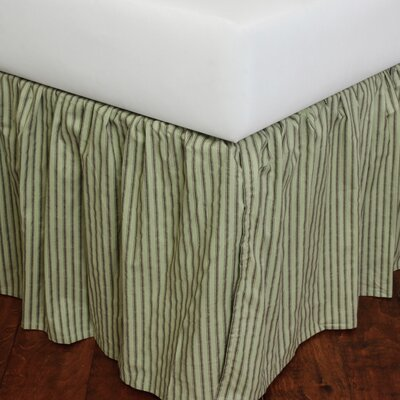 Celedon 180 Thread Count Bed Skirt Size: Twin
