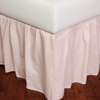 Dottie 280 Thread Count Bed Skirt Size: Twin