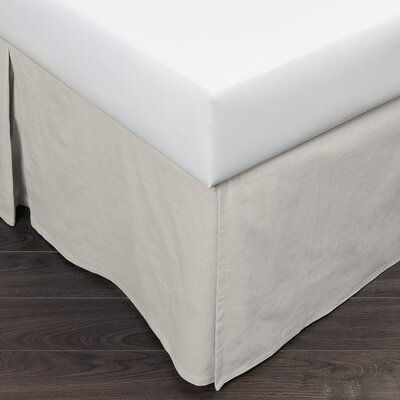 Ivory Pleated Panel 180 Thread Count Bed Skirt