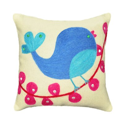Tweety Bird Wool Felt Throw Pillow