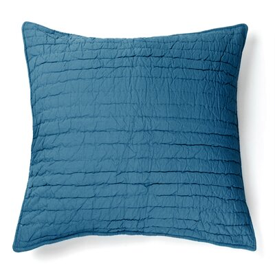 Brighton 100% Cotton Throw Pillow Color: Blue