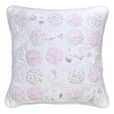 Sherrie Circles 100% Cotton Throw Pillow