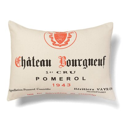 Chateau Bourgneuf Cotton Lumbar Pillow