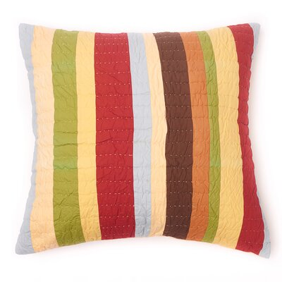 Sol Stripe 100% Cotton Throw Pillow