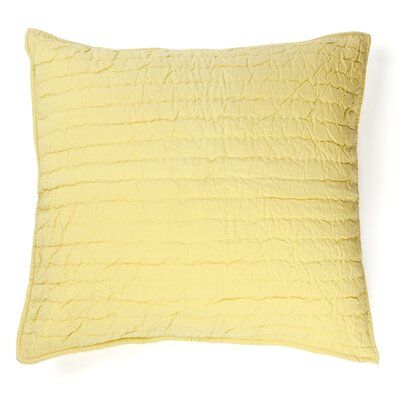 Brighton 100% Cotton Throw Pillow Color: Yellow