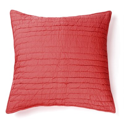 Brighton 100% Cotton Throw Pillow Color: Red