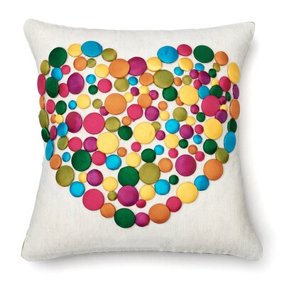 Sweet Love Wool Throw Pillow