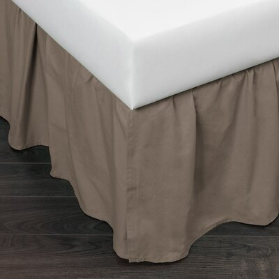 Mandalay Gathered Bed Skirt Size: Queen