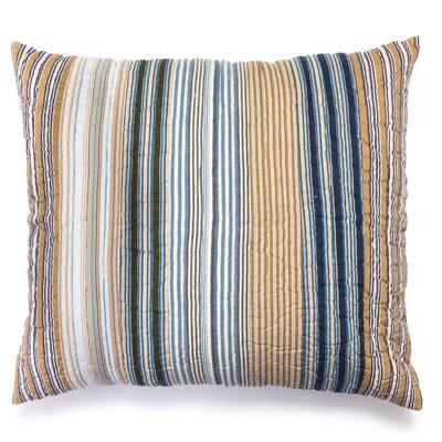 Wilson Stripe Sham Size: Euro