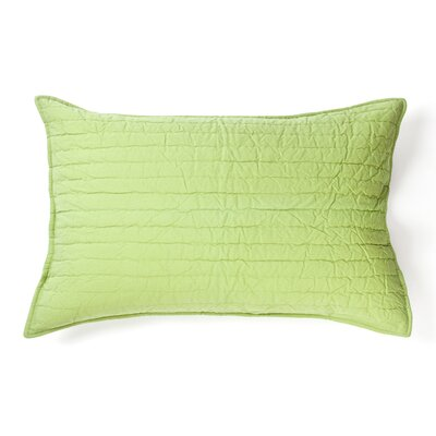 Brighon Sham Size: Euro, Color: Apple Green
