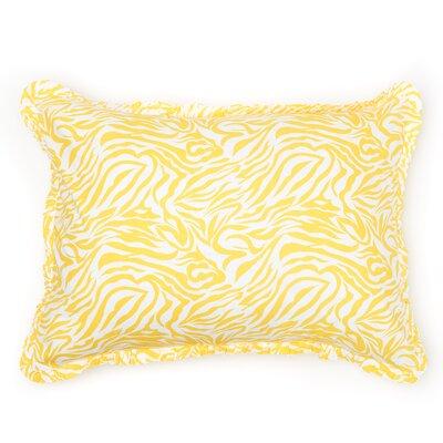 Zabrina Sham Size: King, Color: Yellow