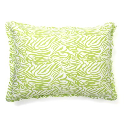 Zabrina Sham Size: Standard, Color: Green